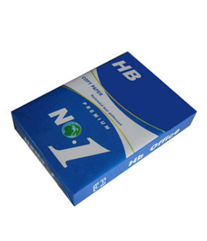 Blue pack with white line of HB-No.1-A4-Copy-Paper